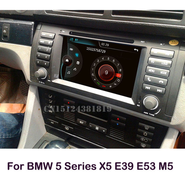 самые продаваемые Dvd плеер для Bmw E39 X5 E53 E38 встроенный