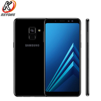 Brand New Samsung Galaxy A8 2018 A530F DS Mobile Phone 5.6 4GB RAM 64GB ROM Android 5.6 2220x1080 px 16.0MP 3500mAh Cell Phone