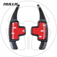 NULLA Carbon Fiber Steering Wheel Shift Paddle Shifter Extension Interior For Mercedes Benz W212 CLA GLA