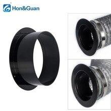 Хон и Guan 4 ~ 6 дюймов ABS высокое качество прямая труба фланец Воздуховодов Разъем; 100 мм/125 мм/150 мм