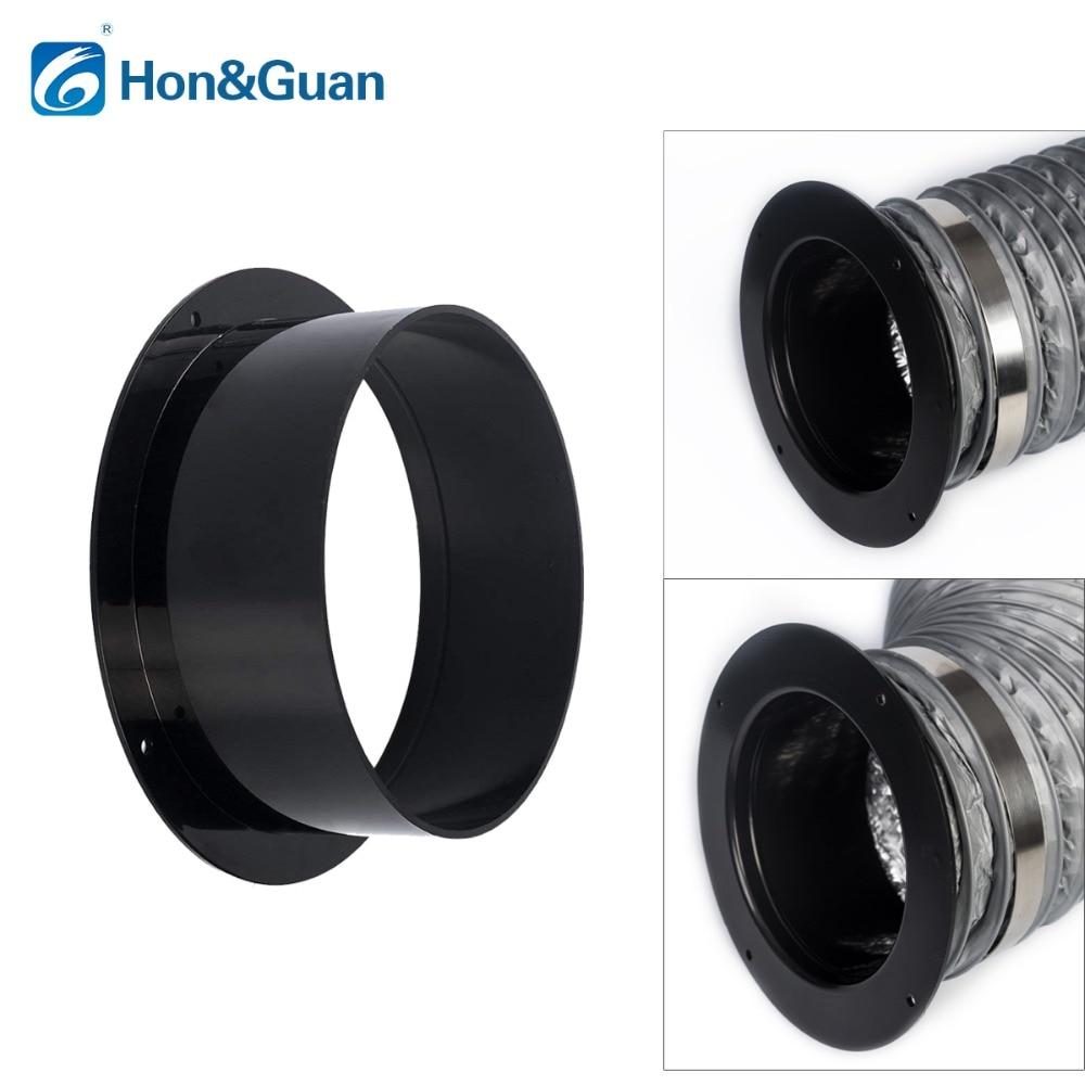 Hon & Guan 4 ~ 6 zoll ABS Hohe Qualität Gerade Rohr Flansch Belüftung Rohrleitungen Anschluss; 100mm/125mm/150mm