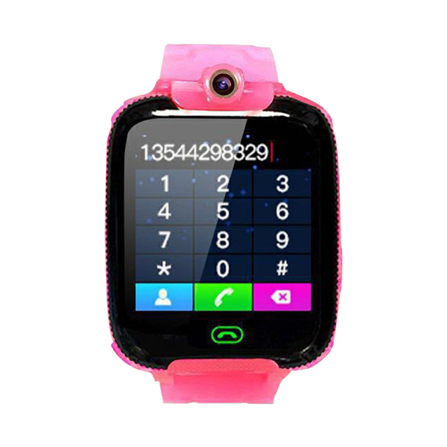 Anti-lost GPS Kid Smart Watch Call Camera Waterproof Safe Tracker Wrist Watch GPS baby Watch Compatible IOS & Android