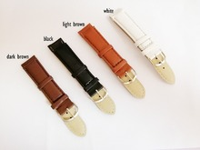 20MM hot style PU leather business men watchband  watch strap and women