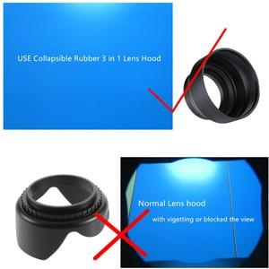 Image 3 - 62mm UV Filter + Lens Hood + Cap + Cleaning pen for Panasonic Lumix FZ1000 Mark II FZ1000M2 DMC FZ1000 Digital Camera