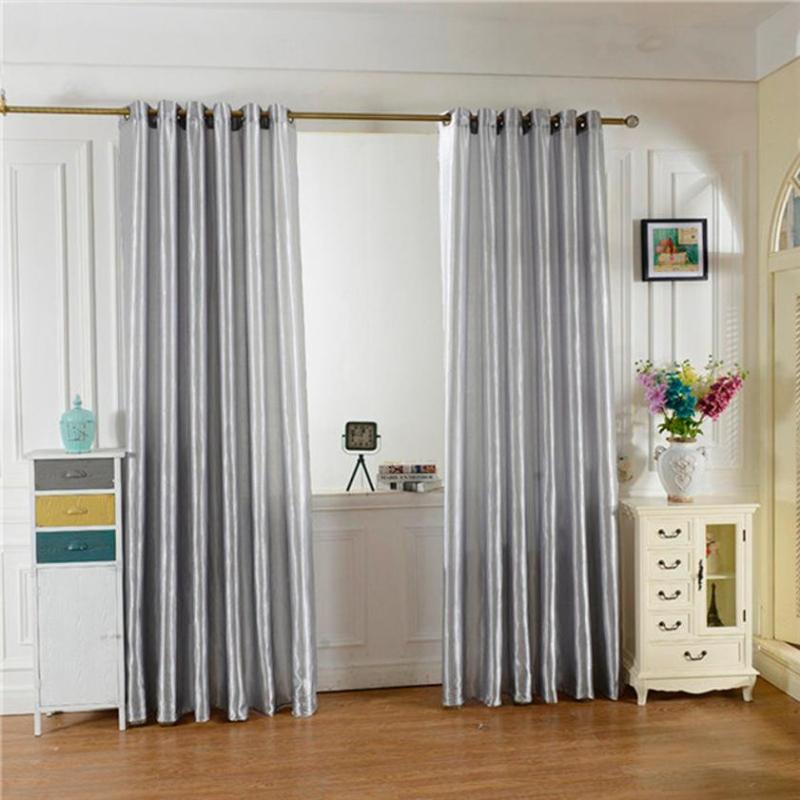 moda ventana ventana de cortinas de color slido cortina puerta paneles de tratamiento de ambiente cmodo