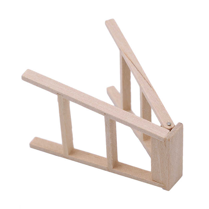 1:12 Кукольный домик миниатюрная мебель деревянная лестница Классическая ролевая мебель игрушки Миниатюрная модель игрушки креативные подарки для детей
