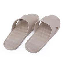 Home summer indoor leaking non-slip bathroom slippers female couple men