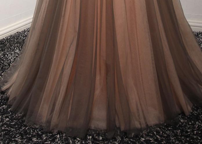 VENSANAC 2018 High Neck Luxury Crystal En Line Long Evening Dresses - Särskilda tillfällen klänningar - Foto 6