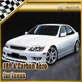 Carro-styling Para Lexus IS200 JP Estilo FRP Fibra de Vidro do Amortecedor Dianteiro Lip