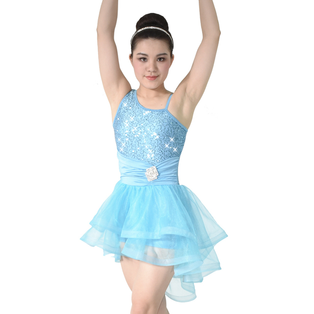 MiDee Dance Costume Dress Contemporary High-Low Tulle Dress Swan Lake Ballet Tutu Costumes Ballerina  sc 1 st  AliExpress.com & MiDee Dance Costume Dress Contemporary High Low Tulle Dress Swan ...