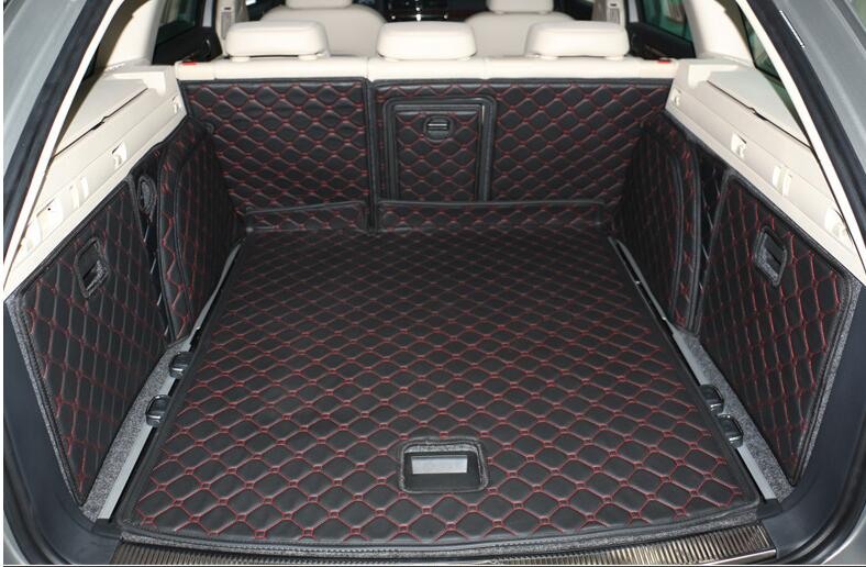 Good mats! Special trunk mats for Skoda Superb Combi 2014-2009 waterproof boot carpets cargo liner for Superb 2012,Free shipping