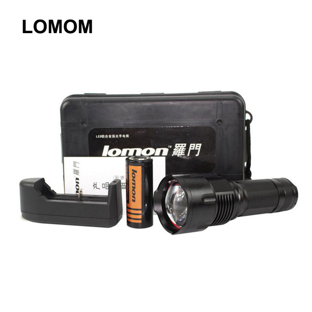 Super bright 3 Modes 10W Cree Led Flashlight L2 Rechargeable18650 &26650 batteries Shock Resistant Torch+Charger+ Battery+Box