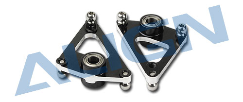 Align Trex 700 Metal Aileron Lever/Black HN7034BA  trex 700 Spare parts Free Shipping with Tracking align trex 800 700 ccpm metal swashplate h70h005xxw trex 700 spare parts free shipping with tracking