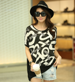 High quality 2016 summer plus size maternity clothing batwing sleeve black letters printed cotton tops pregnancy casual shirts