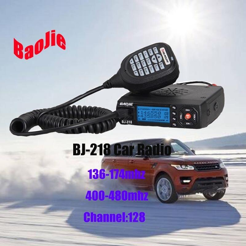 BaoJie-218 Car mobile radio Dual band UHF/VHF 25 Watt FM Transceiver BaoJie-218 Car mobile radio Dual band UHF/VHF 25 Watt FM Transceiver