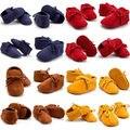 Mocasín Infantiles del niño Recién Nacido Bebé Niñas + Niños Zapatos Botas de Suela Blanda Prewalker