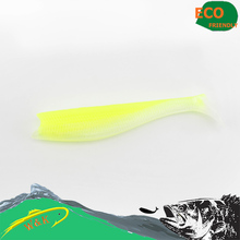 Cod and Zander fishing lure–14 cm 3 pcs/ bags big paddle tail soft lure at 13 different color soft bait #H0905-140