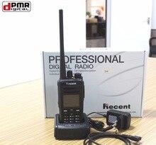 2pc/lot New 4W Professional digital radio walkie talkie 619D UHF dPMR two way interphone walk talk SMS w/ keyboard LCD display