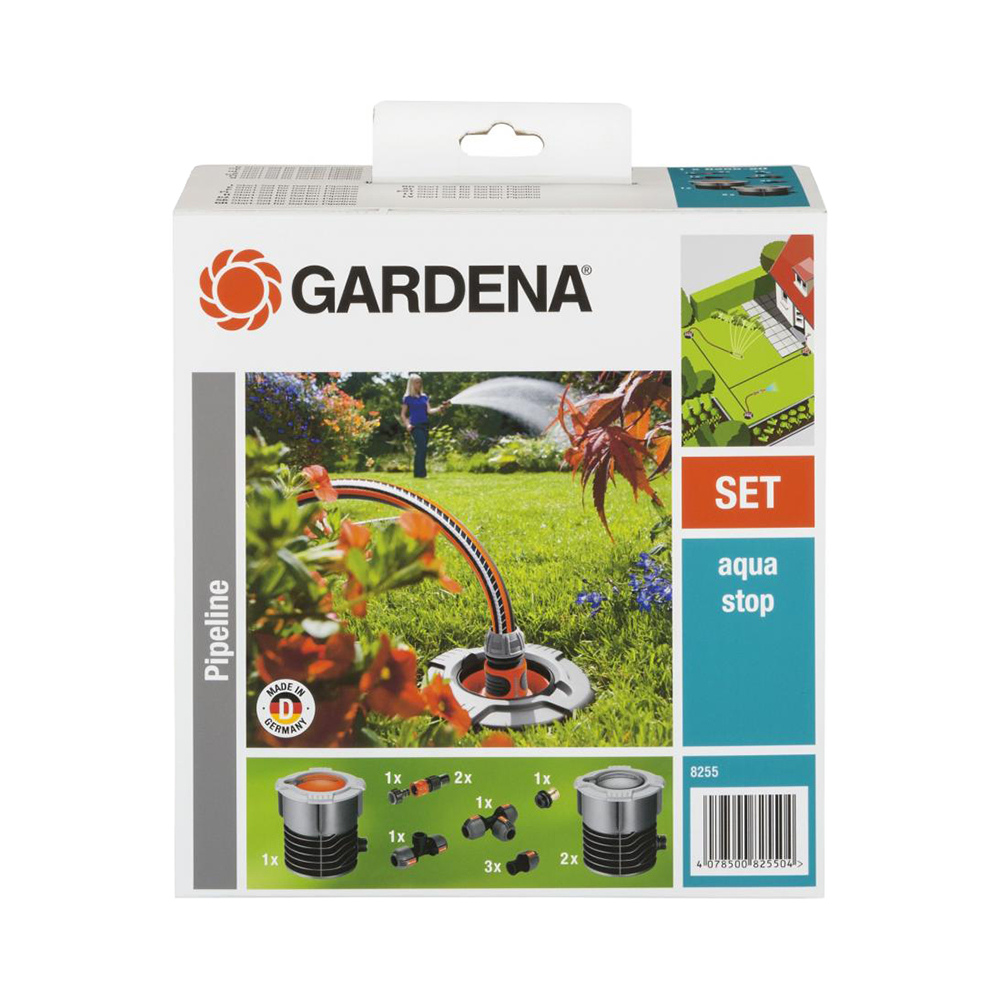The basic set of garden waterpipe GARDENA 8255-20 Home & Garden Garden Supplies Watering & Irrigation Watering Kits a set of connecting elements gardena pros home
