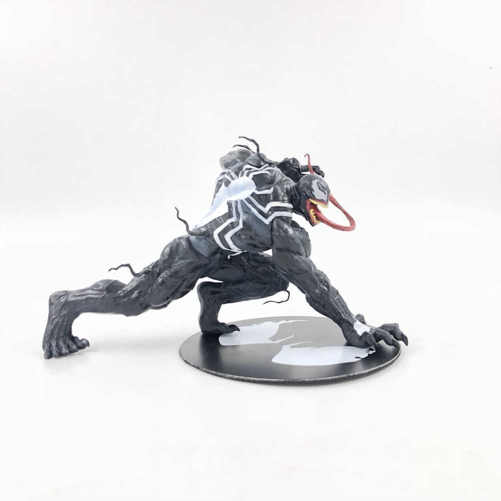 Человек паук яд рисунок ARTFX + X для мужчин X-MEN Эдвард Brock Железный человек Росомаха ПВХ фигурку Модель Коллекция игрушка в подарок