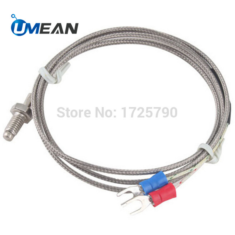 1M 3.3ft K Type Thermocouple Control Temperature