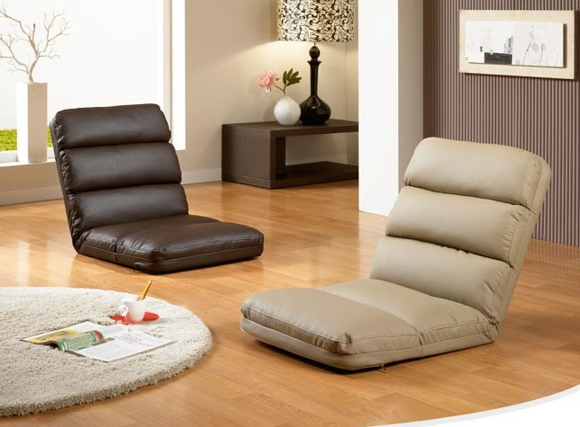 Mesh Fabric Lounge Chair Living Sofa Home Furniture Sleeper Daybed ...