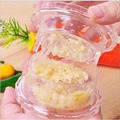 Helpful Garlic Crusher Grater Plastic Box Twist Peeler Mincer Press Kitchen Tool Ginger Kitchen supplies random color hot sale