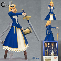 GonLeI 2017 Figma 025 fate stay night Saber Alter 14cm Action Figure Model Toy Sell come with retail box