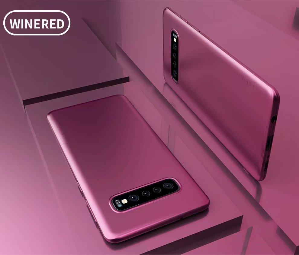 X-Nível Da Guarda Matte Suave TPU voltar Caso de telefone Matagal Tampa Traseira para Samsung Galaxy S10 S9 S8 Plus LITE N 9 8 Caso de Silício