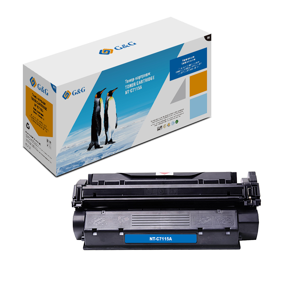 Computer Office Office Electronics Printer Supplies Ink Cartridges G&G NT-C7115Afor HP LaserJet 1000/1005/1200/3300/3320/3330 картридж sakura sac7115x black для hp laserjet 1000 1200 1200n 1200se 1220 1220se 3300 3310 3320 3320n 333