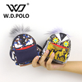 W.D.POLO New monster split leather women Peka wallet high chic brand design lady coin purse super fashion bag charm bug M2283