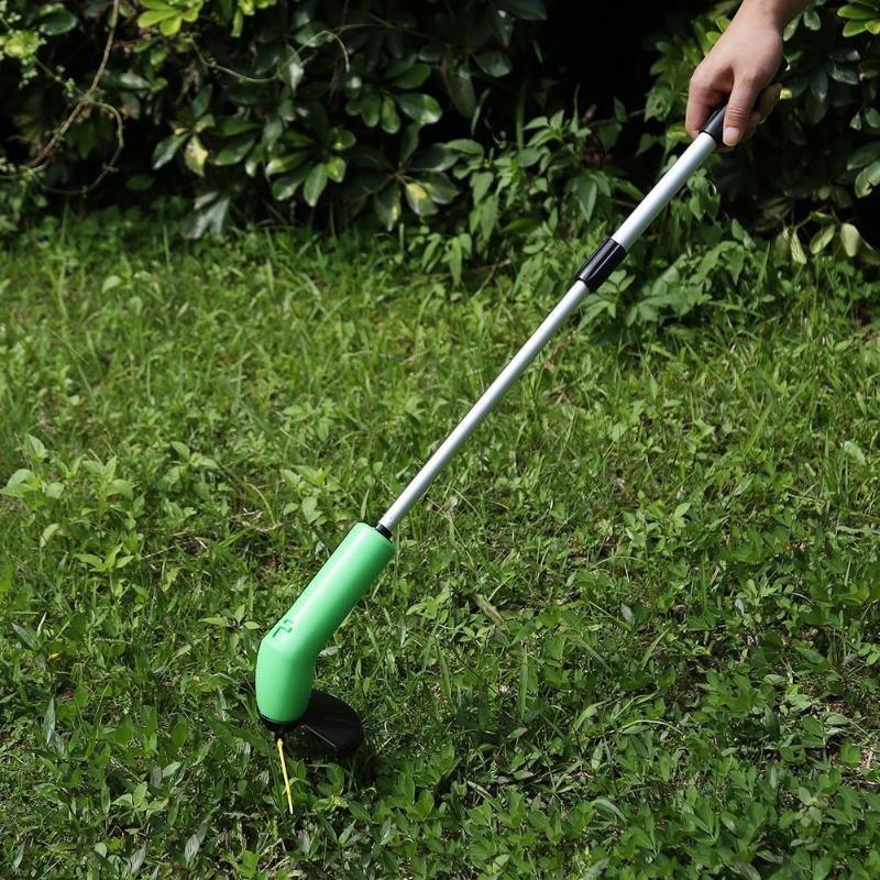 Tragbare Gras Trimmer Cordless Garten Rasen Unkraut Edger Cutter Zip Krawatten Kits Gras Mäher Kraftvoll Hof Mähen Beschneiden Werkzeug