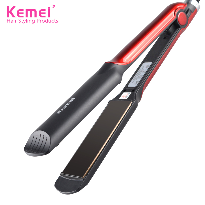 make up 888 Store Kemei531 2016 New Flat Iron Straightening Irons Styling Tools Professional Hair Straightener Free Shipping