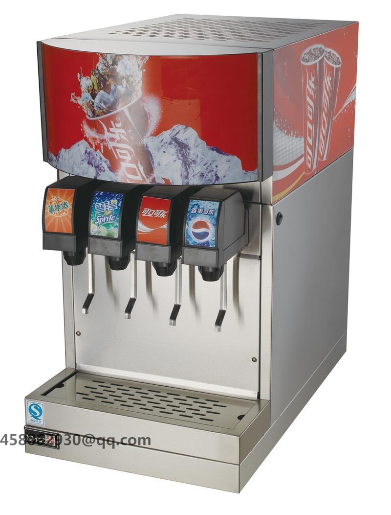 Coke Post Mix Soda Fountain Dispenser, Coke Dispenser Machine With 3 Valves