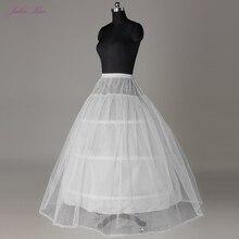 Julia Kui 3 & 6 Hoops Krinoline EINE Linie Hochzeit Petticoat Bild Weiß Farbe