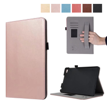 Premium PU Leather Case All-Powerful Protective Stand Cover for Huawei Media Pad M2 8 inch M2 8″ Tablet with Hand Strap