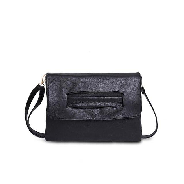 SWDF New Fashion Women Envelope Clutch Bag Leather Women Crossbody Bags Women Trend Handbag Messenger Bag Female Ladies Clutches 3