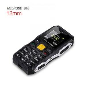 Image 5 - メルローズミニ軍事ポケットバー電話ロングスタンバイビッグ音声懐中電灯 fm シングル sim 最小サイズスペア携帯電話 P105