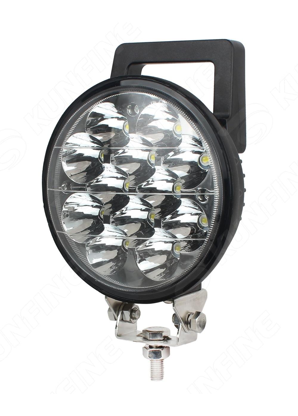 6.0 inch 36W LED Work Light 12V~30V DC LED Driving Offroad Light For Boat Truck Trailer SUV ATV LED Fog Light Waterproof