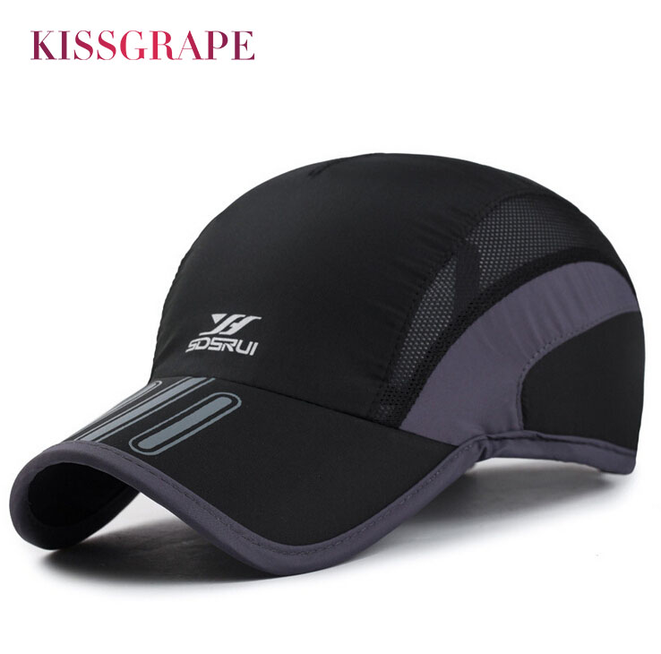 Brand 2019 Summer Unisex Men Breathable Mesh Hat   Baseball     Cap   Quick Dry Bone Snapback Male Outdoor Running Sport Hats Drake   Cap