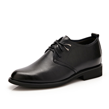 Men Classic Italian Business genuine Leather Formal Shoes Height Increasing Dress Loafers luxury brand black Men's casual shoes