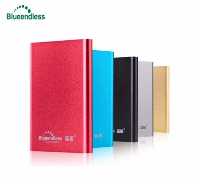 Blueendless HDD 1TB 2TB External Hard Drive Disco Duro Externo 1 TB 2 TB Harddisk  HD 2.5 Harde Schijf Disque Dur Storage Cheap