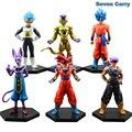 Anime Dragon Ball Z Resurrection F battle of gods Super Saiyan God Gold Frieza God Goku And Vegeta PVC Action Figure Toy CSL20