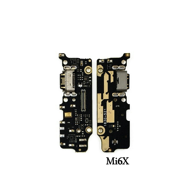New Microphone Module+USB Charging Port Board Flex Cable Connector Parts For Xiaomi Mi6 Mi6X 6X Mi A2 Replacement