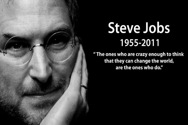 DIY frame Steve Jobs Famous Inspirational classic motivational ...