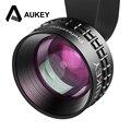 Aukey óptica pro lente 2x hd teleobjetivo lente de la cámara kit de teléfono celular 2x como cerrar ninguna distorsión y ojeras para iphone7/7 plus nota 7