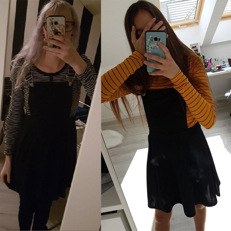 HTB16wqfX4D1gK0jSZFsq6zldVXaf Summer Women Mini Party Dress 2019 Casual Sleeveless Zip Up Back Pinafore Dress Autumn Black Pleated Overall Dress Plus Size