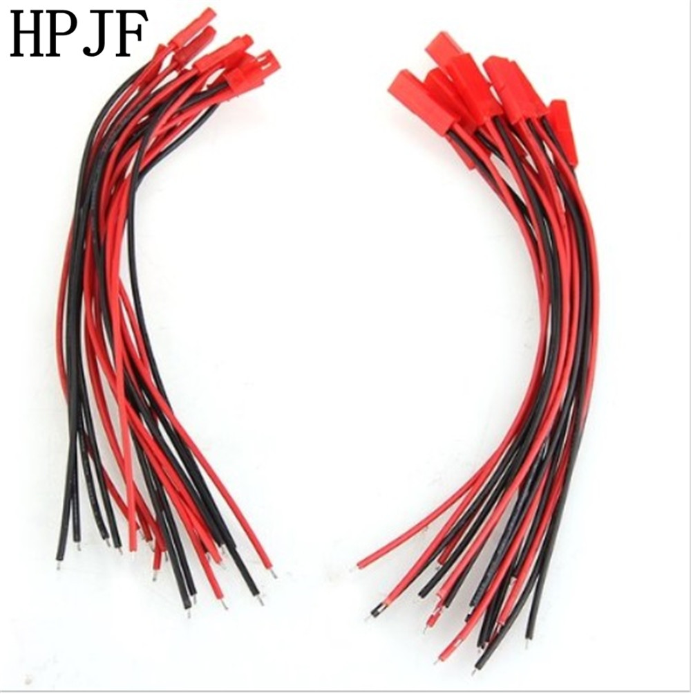 Aliexpress Com Buy 10 Pairs 150mm Jst Plug Cable For Rc