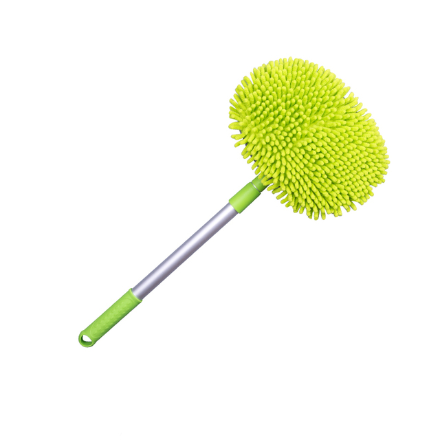Car Wash Brush Cleaning Mop Chenille Broom Adjustable Telescoping Long Handle Car Cleaning Tools Rotatable Brush Car Accessories 3