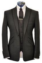 Latest Coat Pant Designs Black Bridegroom Custom Made Trim Formal Wedding Suits For Men Best Man Slim Fit 3 Pieces Masculino Q4